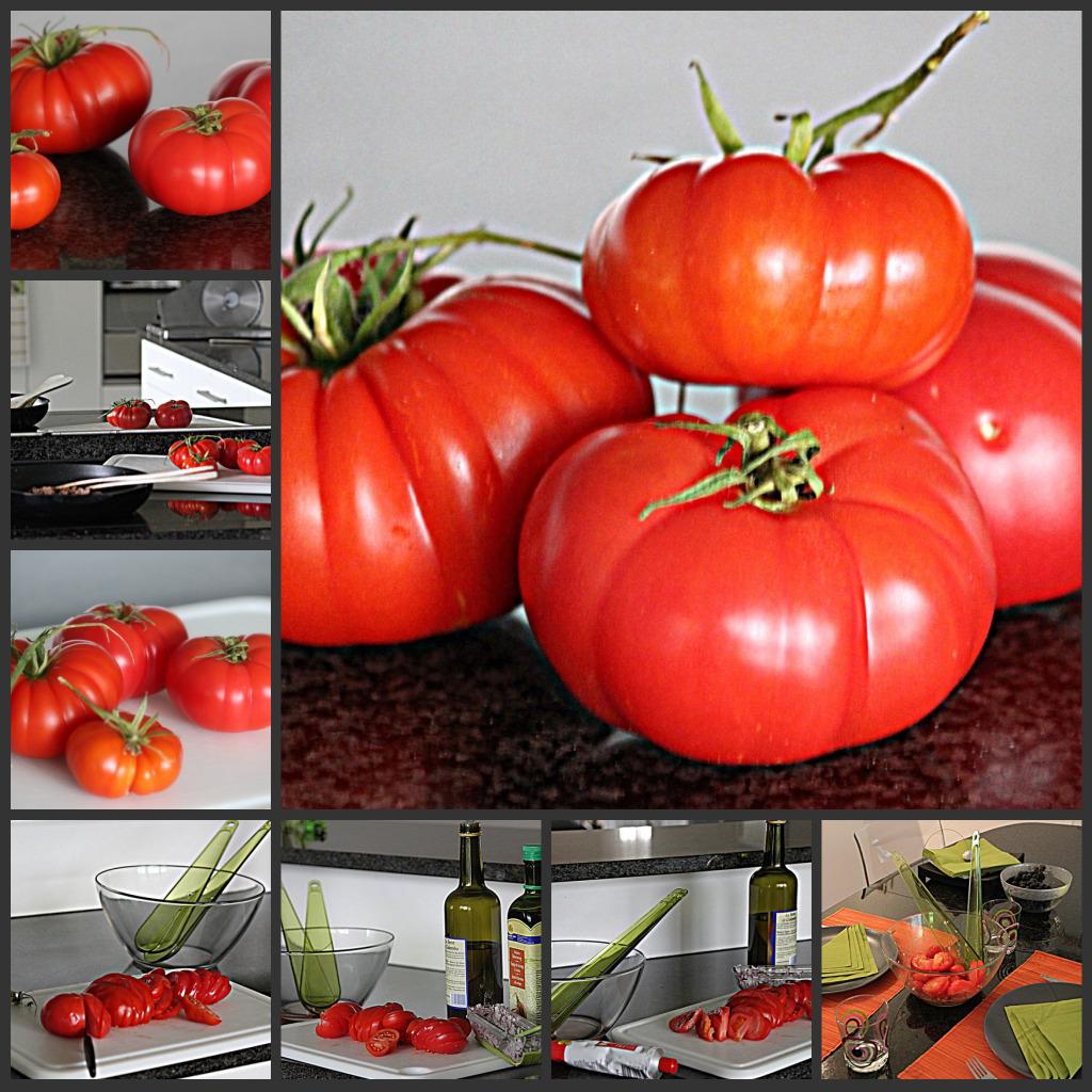 Schlachtung unserer ersten Tomaten
