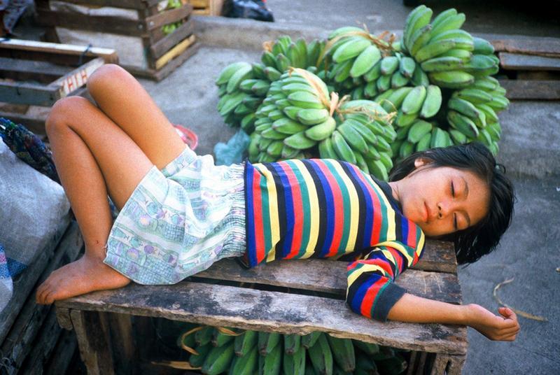 Schlafen in allen Lebenslagen......