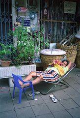 schlafen in Thailand