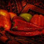 Schlafende Chilis