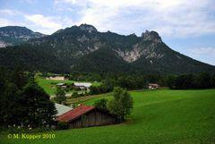 Schlafende Hexe (Alpen, Berchtesgadener Land), Bischofswiesen