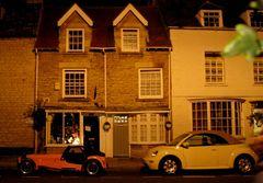 Schlafende Straße in Oxford