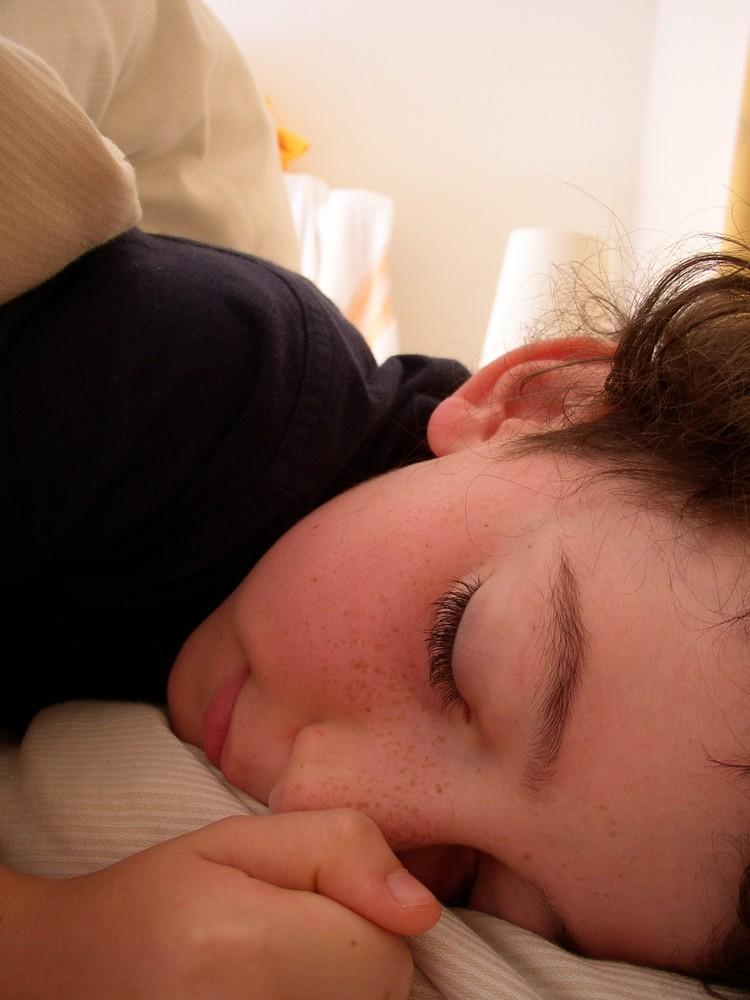 Schlafendes Engelchen