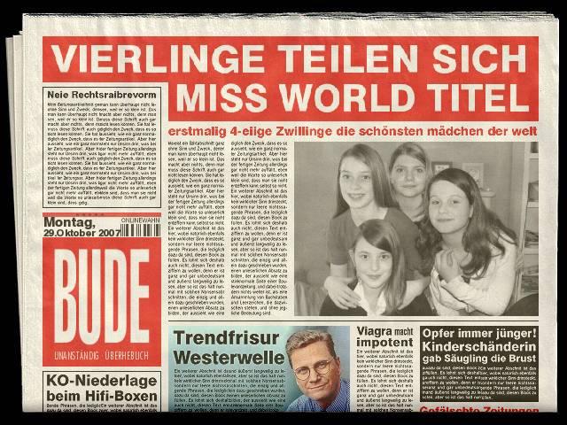 Schlagzeile Des Tages Foto Bild X Archiv Sonderprojekte Fc
