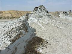 schlammvulkane - mud vulcano