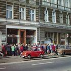 Schlange stehen ..... Polen 1984 (Dia-Scan)