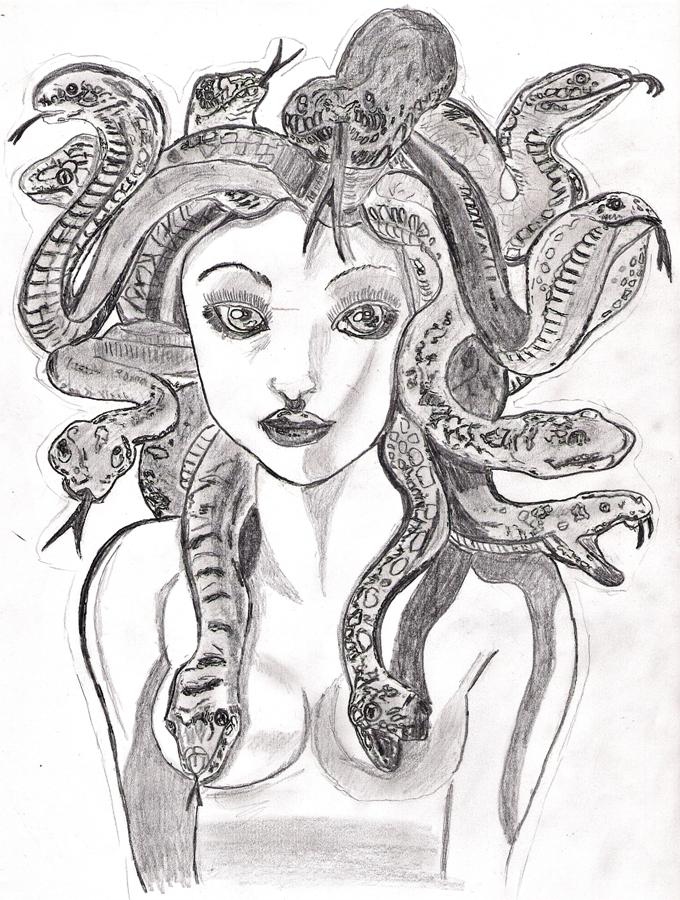 Schlangenmädchen