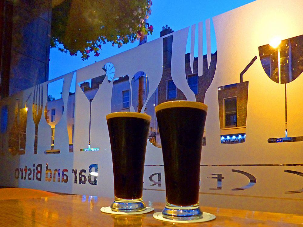 Schlankes Guinness