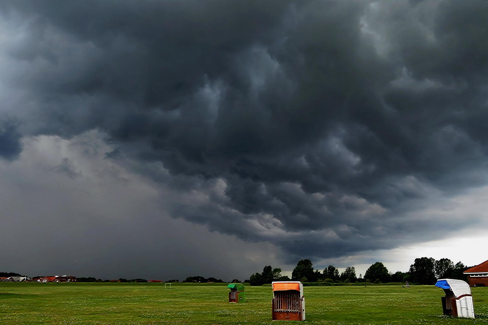 Schlechte Wetterlage