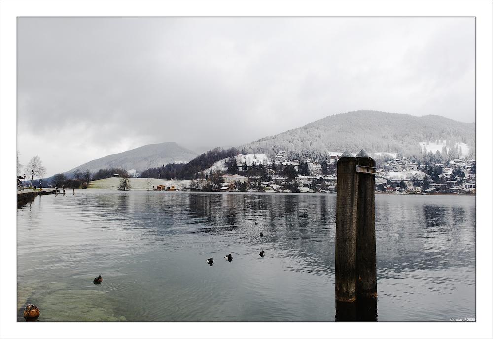 Schlechtes Wetter am Tegernsee