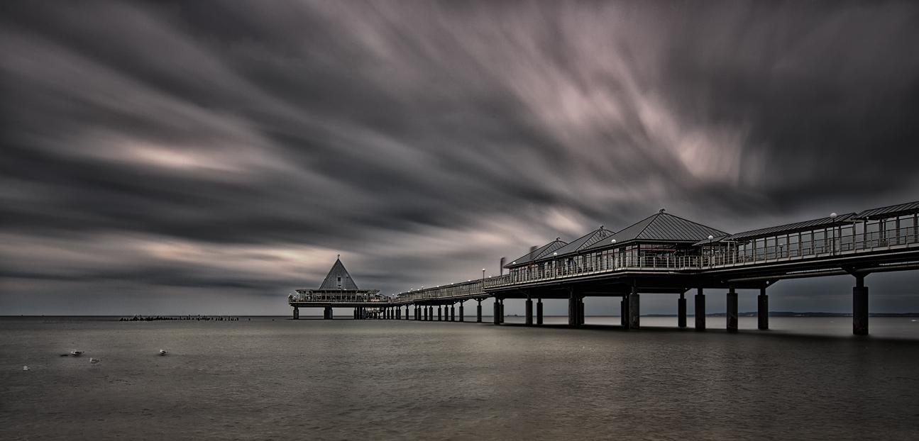 Schlechtes Wetter auch an der Ostsee