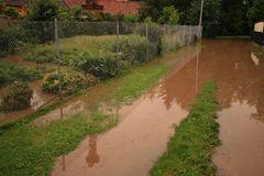schleichend kommt das Hochwasser