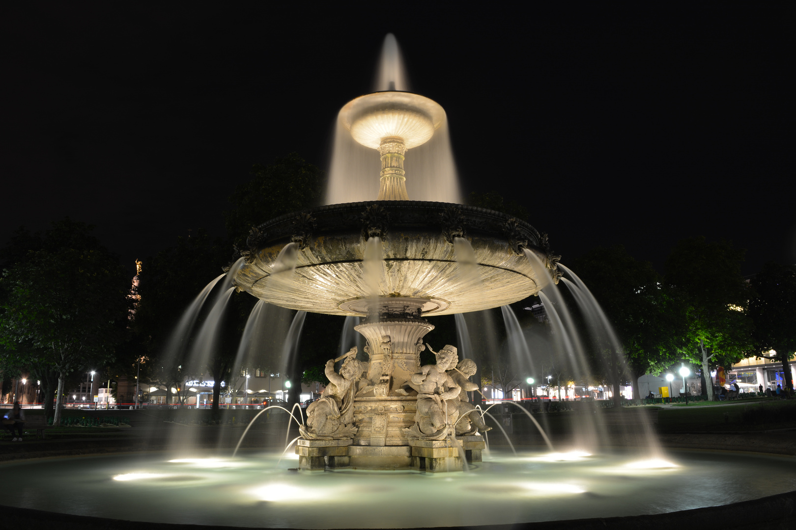 Schleierbrunnen in Stuttgart
