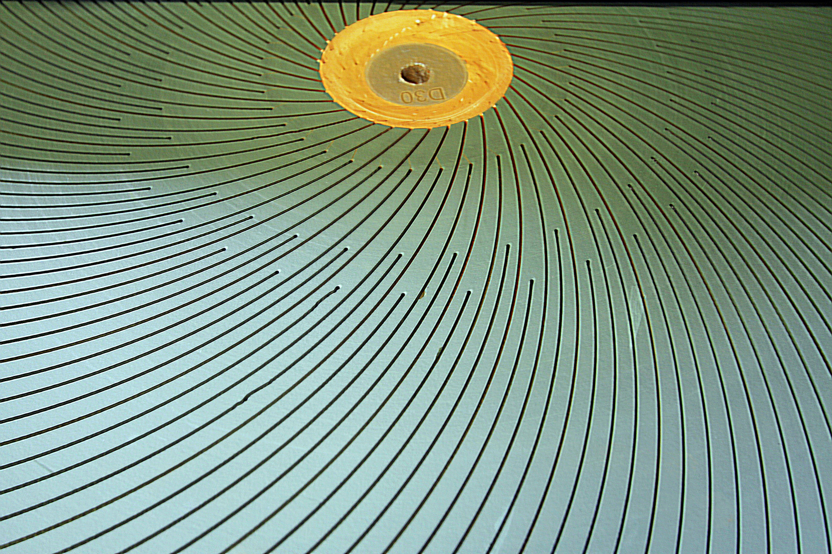Schleifstein in der Glasfabrik Reimyre...........