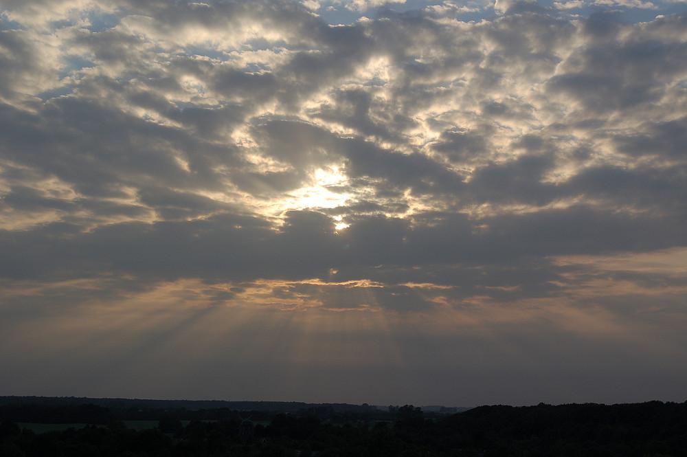 schleswig-holsteinischer Wolkenhimmel