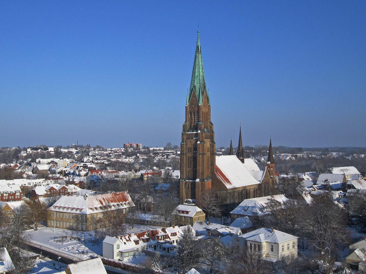 Schleswiger Dom im Winter