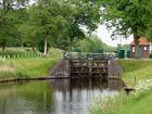 Schleuse am Ems-Jade-Kanal in Wiesens