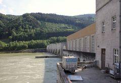Schleuse an der Donau