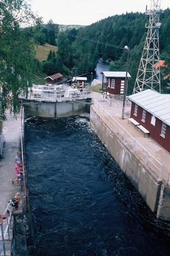 Schleuse in Norwegen