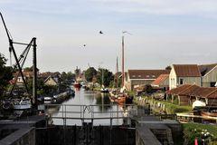 Schleuse Workum, Niederlande