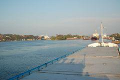 Schleusenanlage Nord-Ostsee-Kanal in Kiel-Holtenau