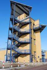 Schleusenturm der Schleuse Rothensee