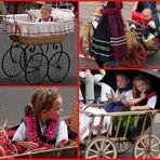 Schlitzer Trachtenfest 2011: Im Wagen vor mir fährt ...