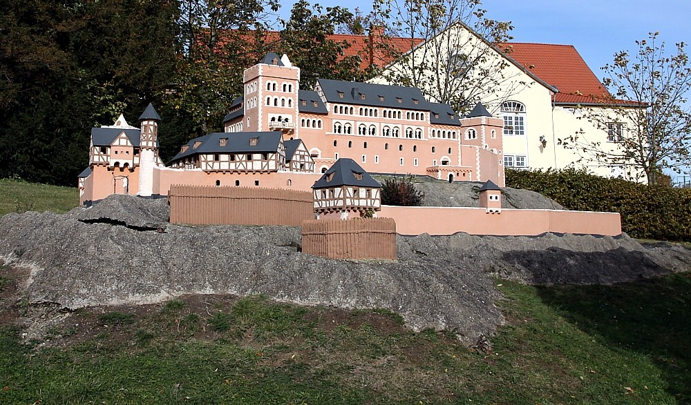 Schloss Anhalt, Ballenstedt (Miniatur)