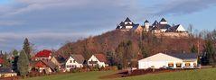 Schloß Augustusburg am 10.12. und einem schönen Morgen