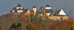 Schloß Augustusburg in herbstlicher Stimmung Anfang November