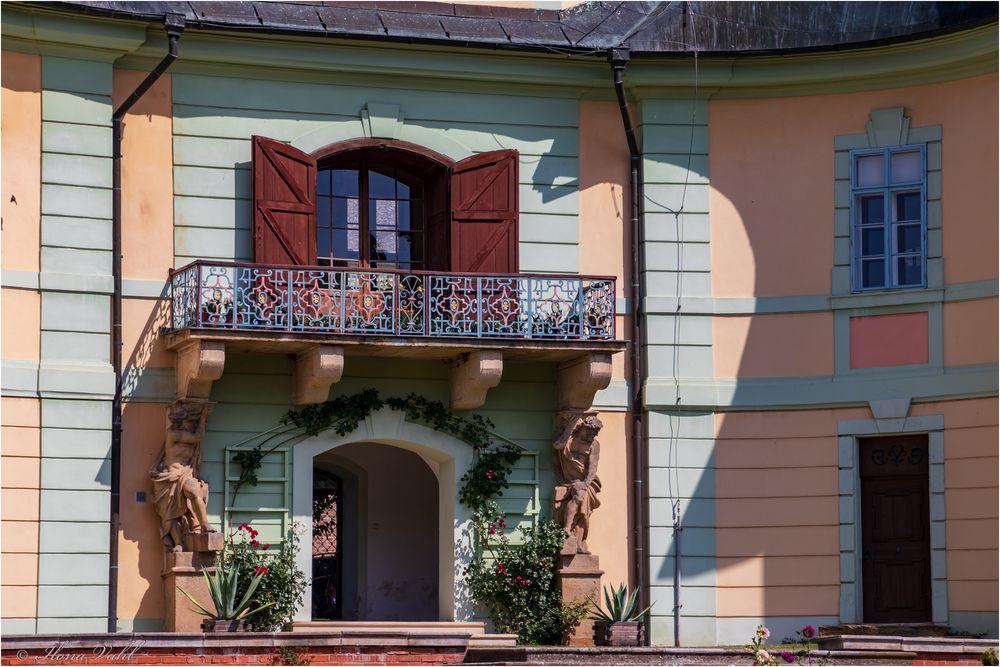 Schloss-Balkon
