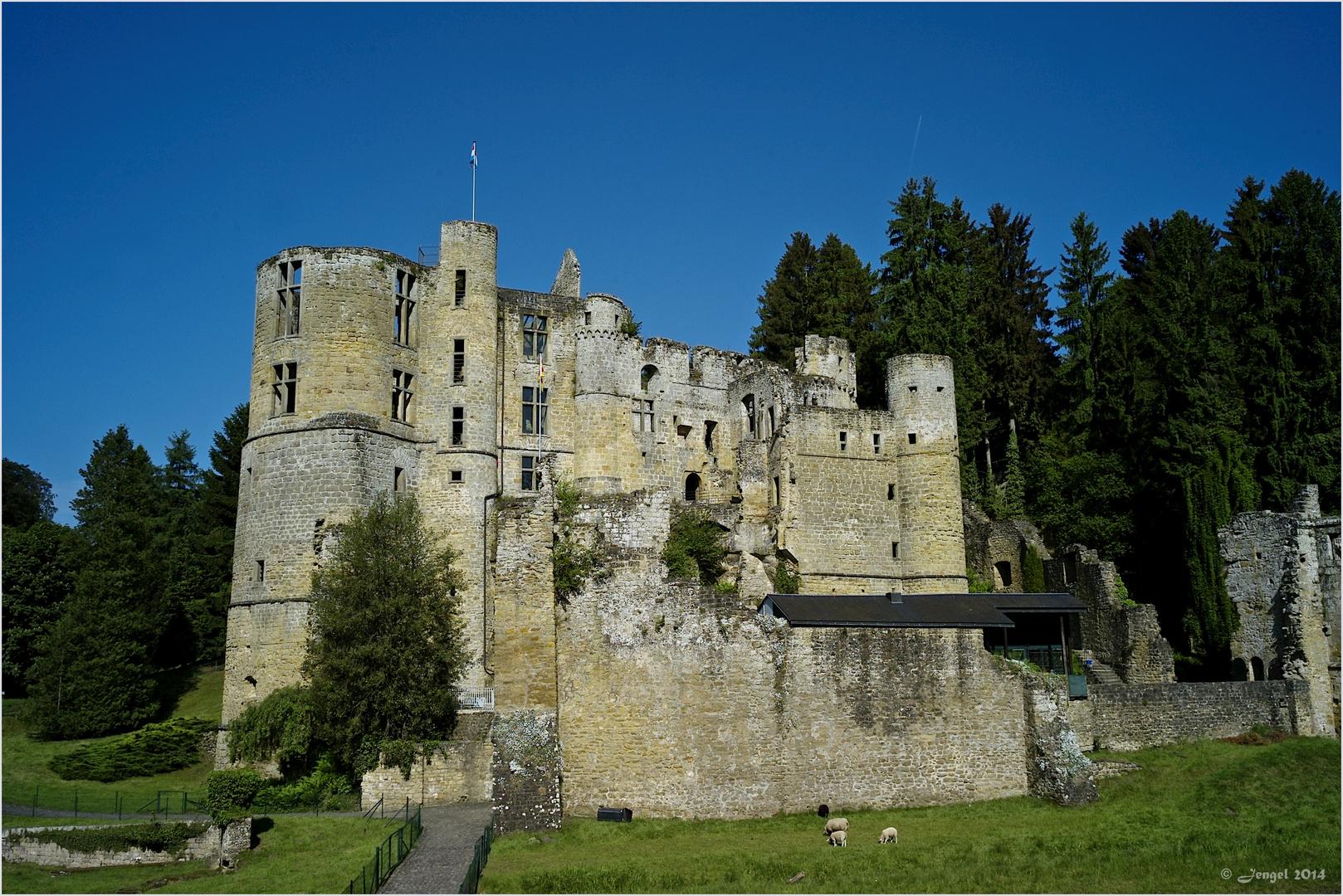 Schloss Beaufort in Luxemburg