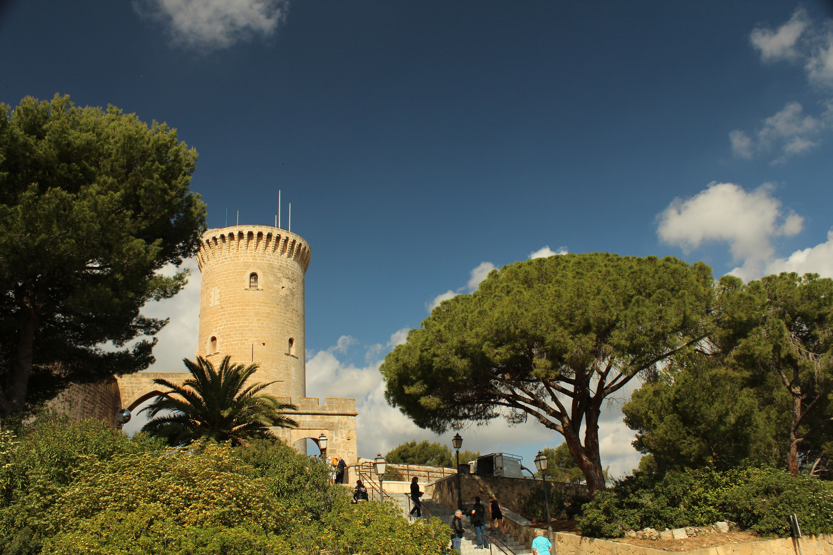 Schloss Bellver, Mallorca