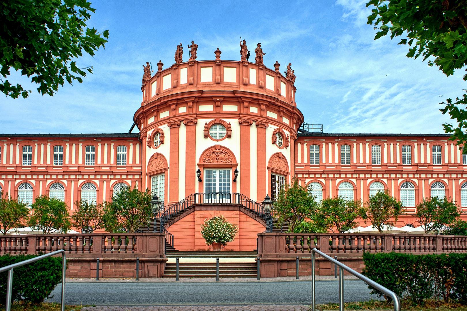 Schloss Biebrich Wiesbaden Foto & Bild