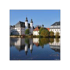 Schloss Blankenhain im Quadrat