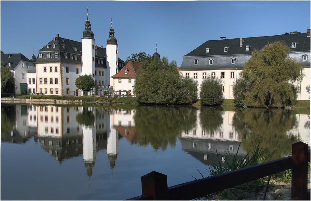 Schloss Blankenhain-----------mit Spiegelung
