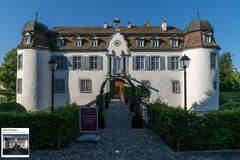 Schloss Bottmingen - Frontansicht