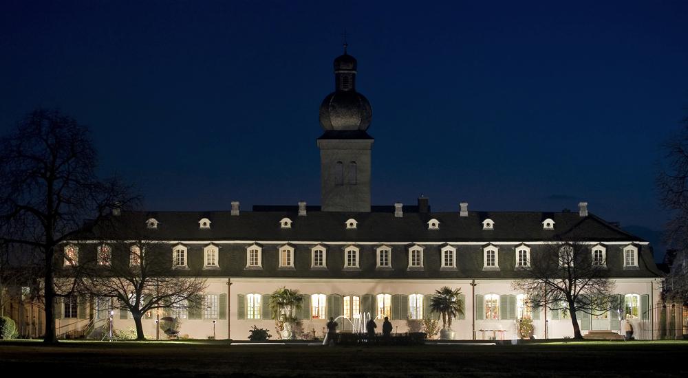 Schloss Braunshardt bei Nacht