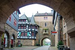 Schloss Burg an der Wupper - Eingangstor