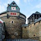 Schloss Burg - Festungsturm am Wehrgang