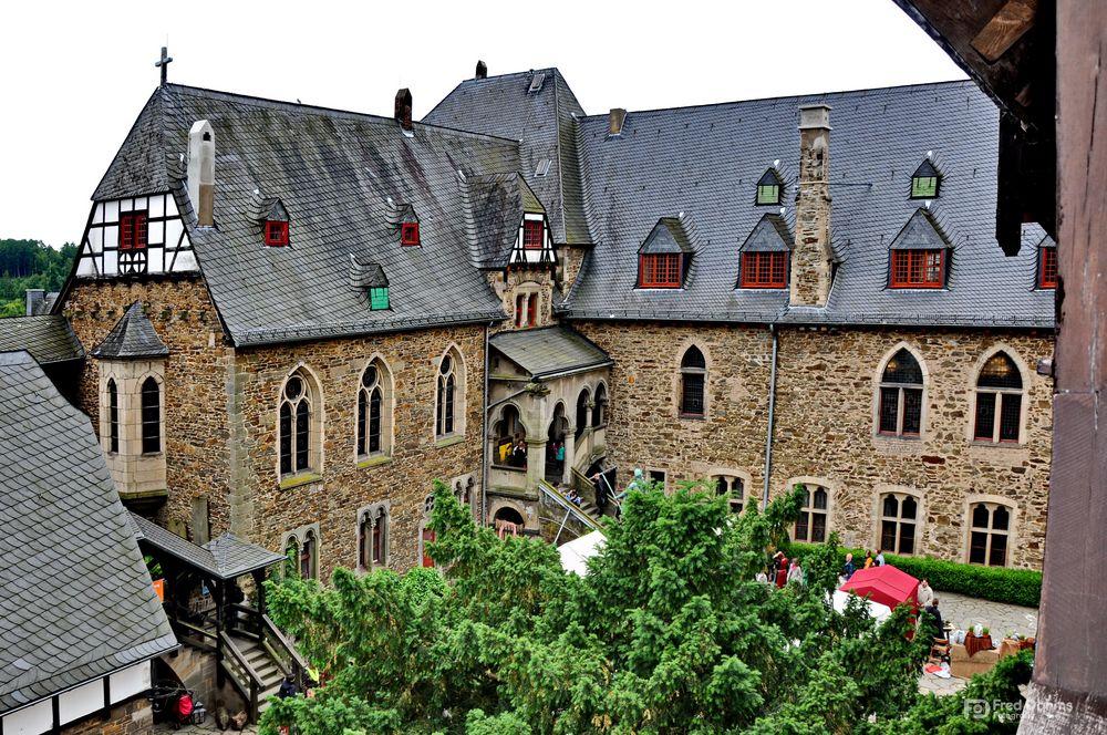 Schloss Burg, Mittelaltermarkt I