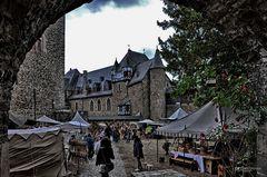 Schloss Burg, Mittelaltermarkt XVII