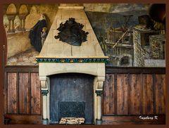 Schloss Burg - Rittersaal - Kamin