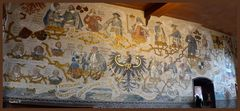 Schloss Burg - Rittersaal - Wandgemälde