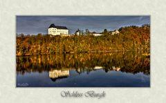 Schloss Burgk im Herbst