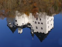 Schloss Burgk im Saalespiegel