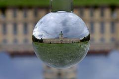 Schloss Charlottenburg durch die Kristallkugel gesehen