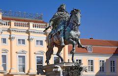 Schloss Charlottenburg - Reiterstandbild des Großen Kurfürsten