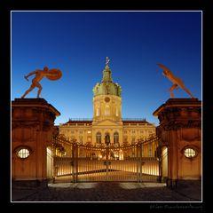 Schloß Charlottenburg zur blauen Stunde