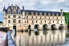 Schloss Chenonceau (HDR)